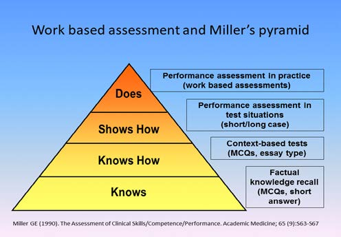 Work-based assessment: a practical guide Summative assessment strategies utilize rigorously defined standards to enable decisions regarding whether participants passed or failed.