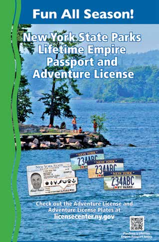 Contents copyright 2015 by the State of New York, Office of Parks,