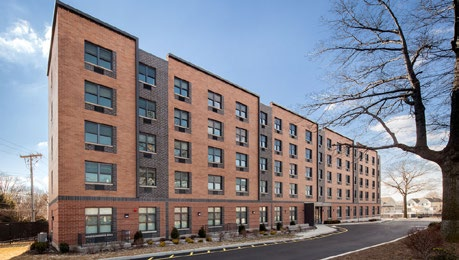 Case Study: Senior Housing Staten Island Markham Gardens Manor This new five-story development developed by the nonprofit Sisters of Charity Housing Development Corporation in partnership with NYCHA