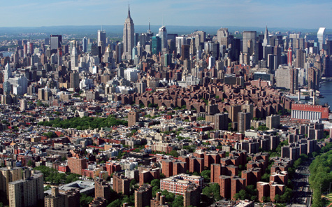 intense urbanism. In this analysis, like conventional wisdom, Manhattan is the most intensely walkable urban place in the country.