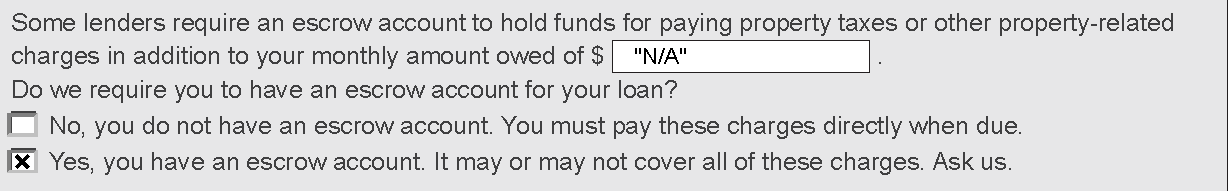 34 The example below illustrates how this answer would appear: 10) Q: For a reverse mortgage, should the loan originator complete the GFE with the initial interest rate to be contained in the Note or