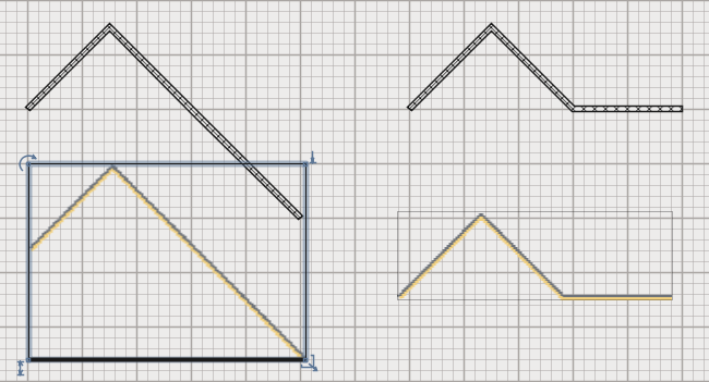 Now we will make the roof. This is a neat trick that we can do thanks to the CopyAsNewFurniture plug-in. 1 - Open a new document in Sweet Home 3D.