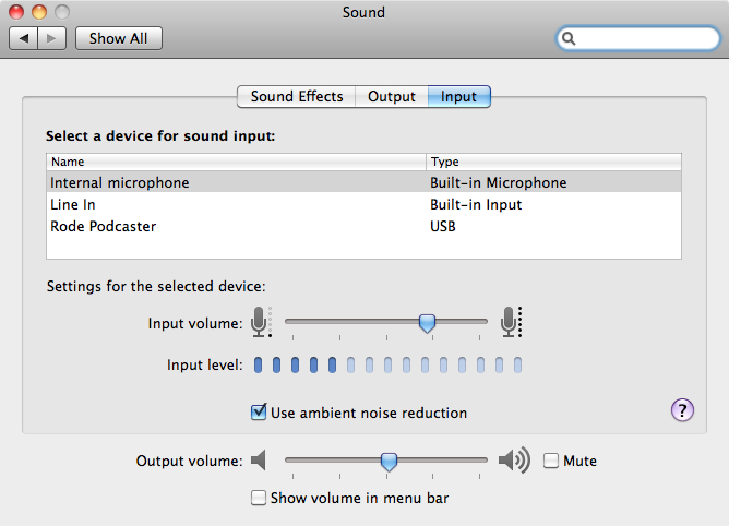 Use GarageBand to record and edit your audio.