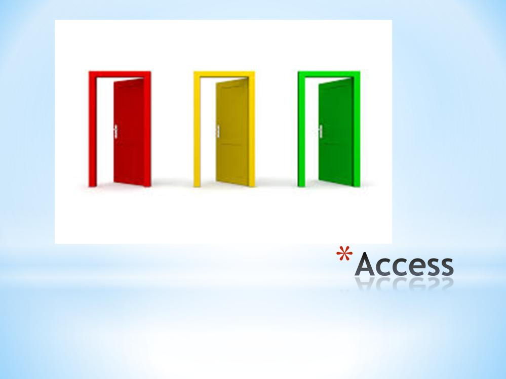 What is accessible to/ for you? What about your participants?