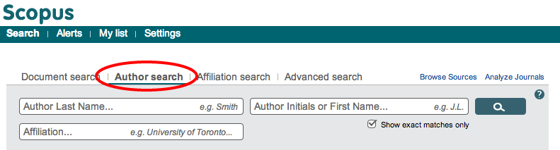 Exercise Do a Search for your Name in Scopus (www.scopus.com)! Do you have a Doppelgänger?