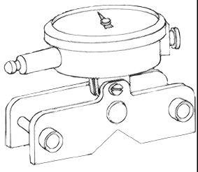 A clamp (or clamps) holds the work firmly in the body groove. V-blocks and clamps are especially used for grinding, milling, or drilling purposes.
