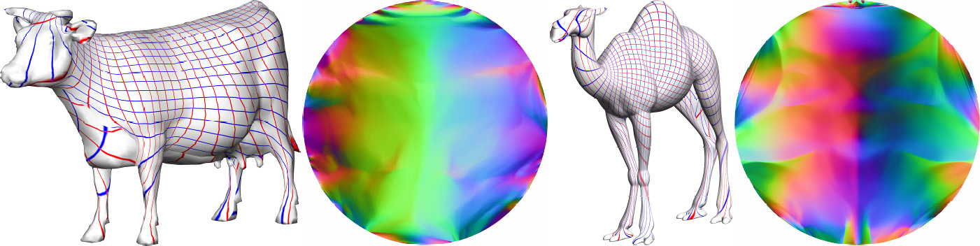 124 Parameterization of Topological Disks since meshes are often viewed as approximations of smooth surfaces, we can argue that it is possible to map them to the plane with very little angular
