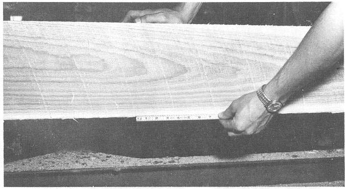 (fig. 11). The saw-feed value can be calculated by multiplying the desired bite times the number of teeth in the saw.