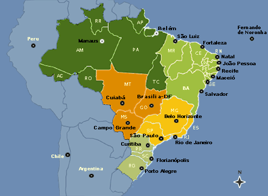 4 GENERAL PRACTICAL INFORMATION 4.1 BRAZIL A country with continental dimensions, with 500 years of history.