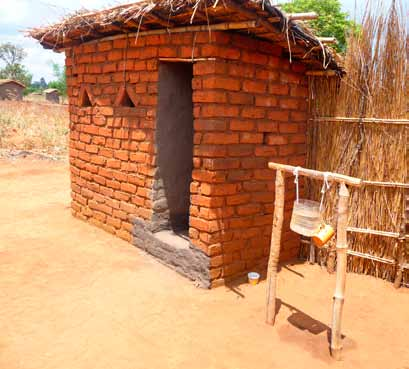 Hoofdstuktitel Latrine with handwashing facility 92 Latrine ownership also increased substantially in locations not reached by the CATS intervention.