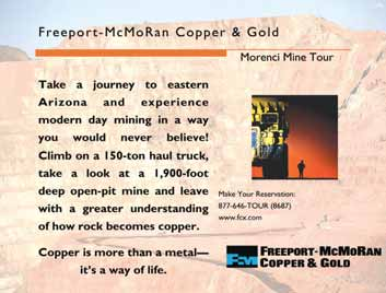 Freeport-McMoRan Copper and Gold Pat Oso