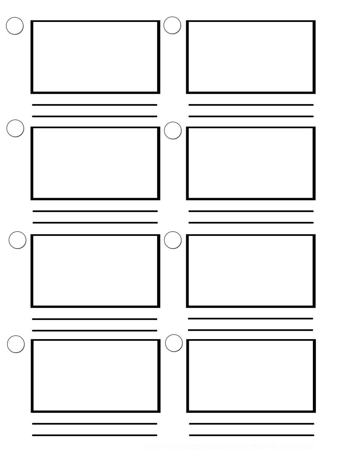 Blackline BLACKLINE Master MASTER 4: Create 4 CREATE a A storyboard STORYBOARD Print this Print out this and out give and your give students your students a copy on a which copy to on draw which