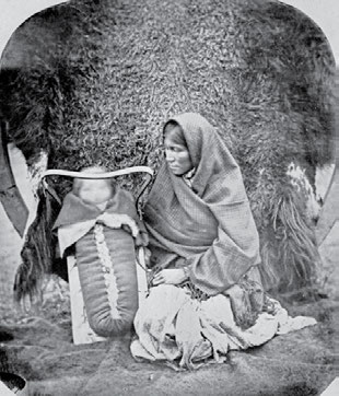 To Christianize and Civilize: Canada s Residential Schools 9 Ojibway woman with child in carrier basket, 1858.
