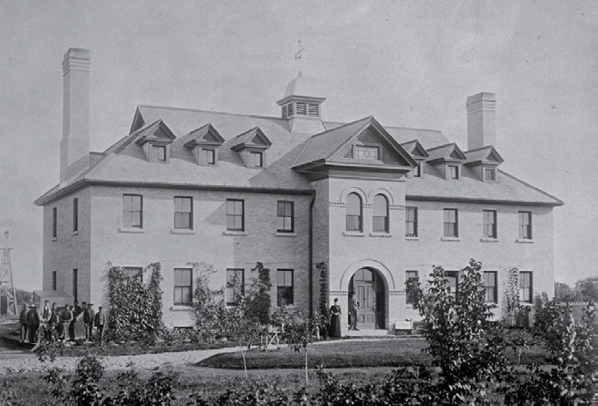 School Days: The Residential School Experience 43 The principal of the Rupert s Land school in Manitoba was fired in 1899 after he was accused of kissing female students.