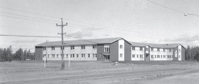 Residential Schools in the North and the Arctic 61 Yukon Hall, the Anglican residence in Whitehorse, Yukon. Yukon Archives, Edward Bullen fonds, 82-354 #25.