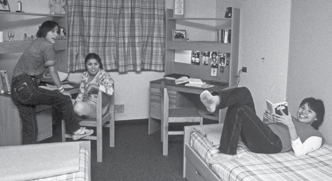 64 Truth & Reconciliation Commission Students in a dormitory room in Akaitcho Hall in Yellowknife, Northwest Territories. Northwest Territories Archives, Northwest Territories.