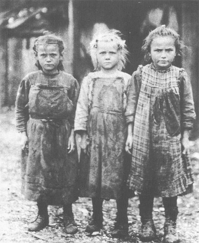 A Childhood in the Factory The British and American Factory System of the Industrial Revolution was staffed mainly by enslaved ( indentured ) White children who were forced to work, as children had