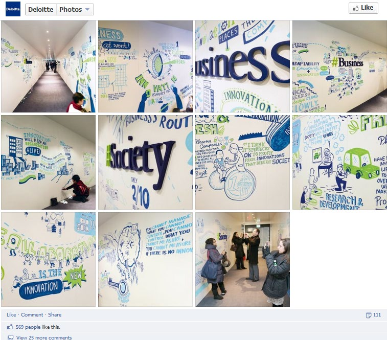Finally, I m Old Enough To Write On The Walls Again! Deloitte is one of the big four professional services firms, whose offerings include financial, risk and tax services.