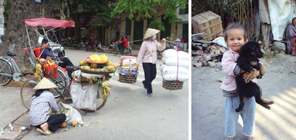 SOMETIMES PEOPLE ARE EQUAL: EQUITY Left: Hanoi; Right: Kathmandu A better city is a more humane one, one friendly to children, the handicapped and old people, to society s most vulnerable members.