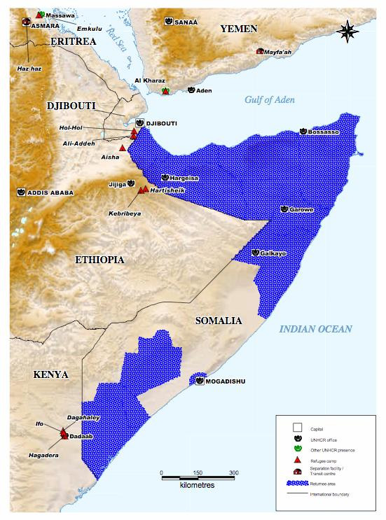 Annexes Map of Somalia and its neighbouring