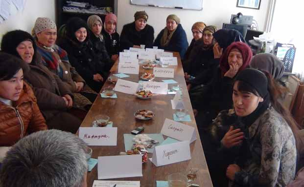 Focus group discussion with ethnic minorities, Osh Province, Osh city, Kyrgyzstan (Photo: Ibragimov Hasan) One of the main reasons for gender inequality is child marriage which deprives the girls of