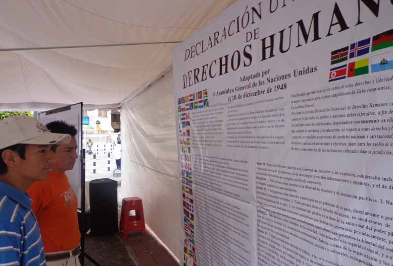 KEY MESSAGES International Day of Human Rights in Quito, Ecuador (Photo: Maria José Guevara, UNV) This report collects the perspectives on the world we want from over 1 million people around the