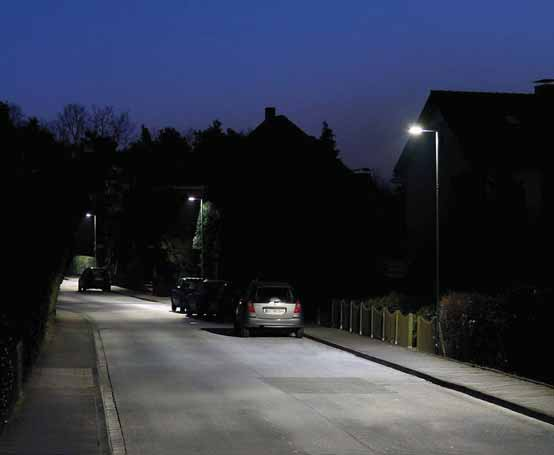 FLEXIBILITY Medium scale conversion The city of Bielefeld operates around 31,000 luminaires to light up its streets, pathways and parks.