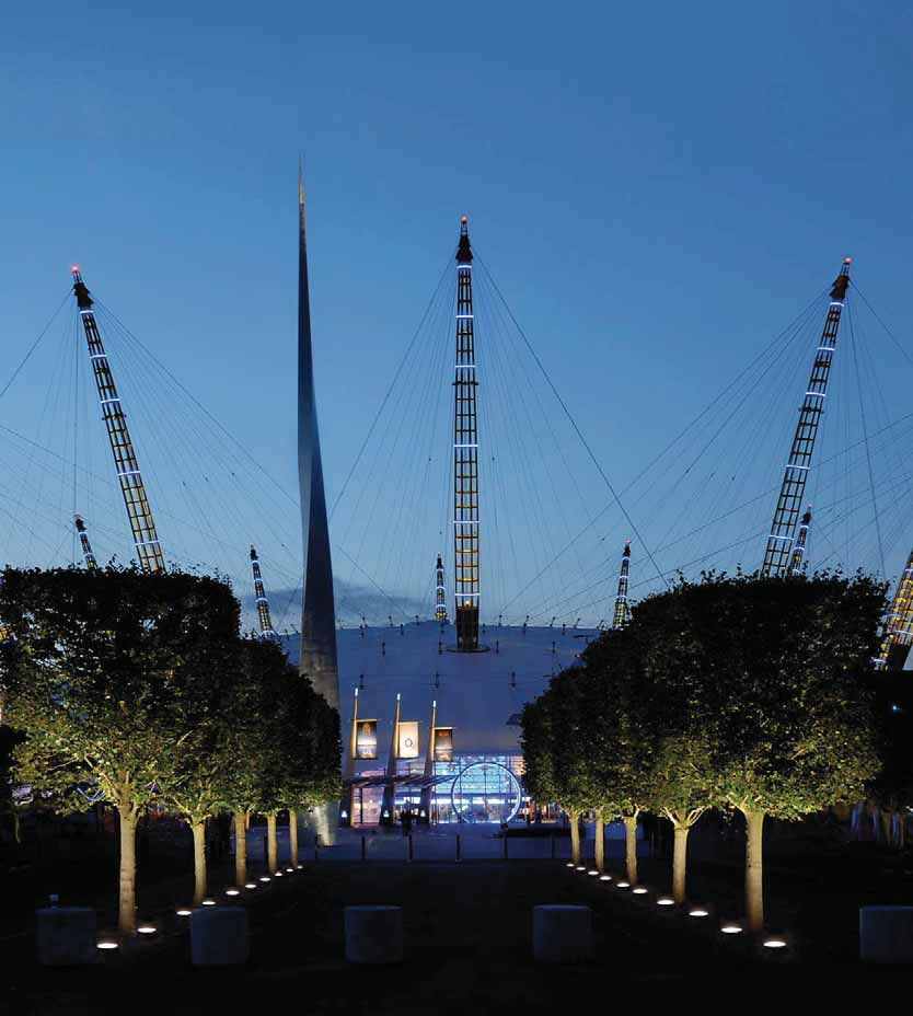O2 Arena. London (UK). Architect: HOK Sports.