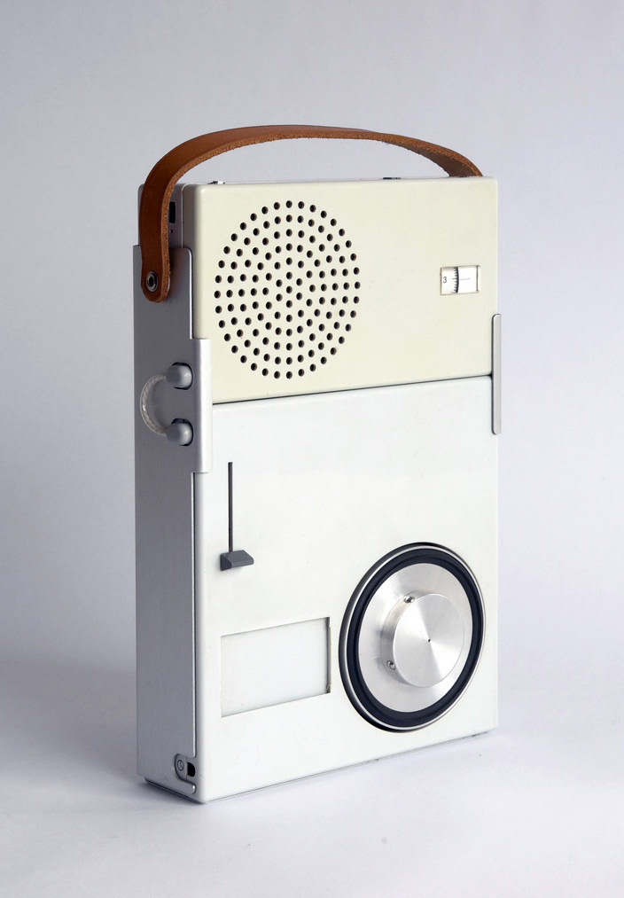 Braun TP1 portable transistor radio by Dieter Rams, 1959 Dieter Ram s work for Braun is a great example.