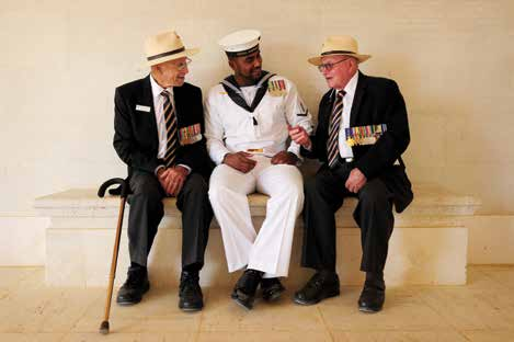 AWM 014577 Image H: Veterans of the Second World War share their