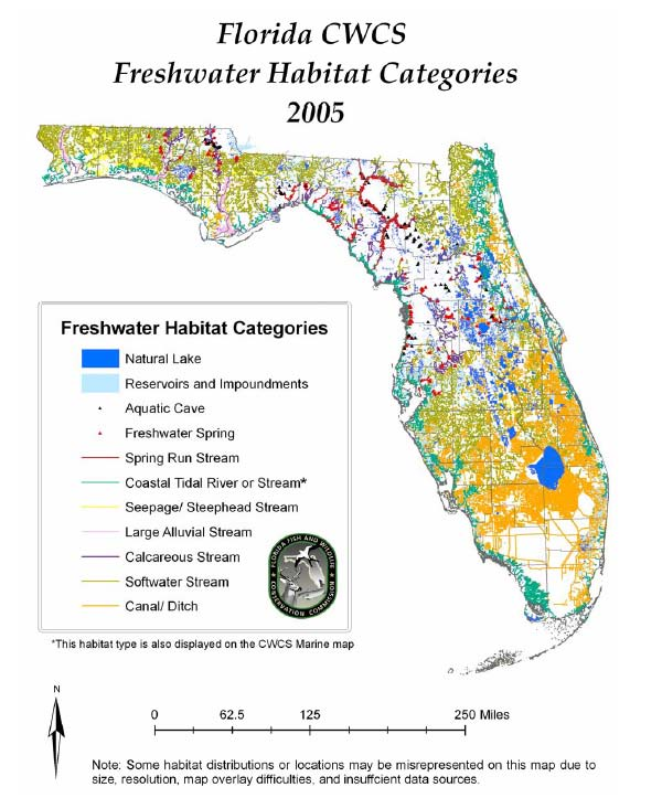 Source: Florida Fish and Wildlife Conservation Commission. 2005.