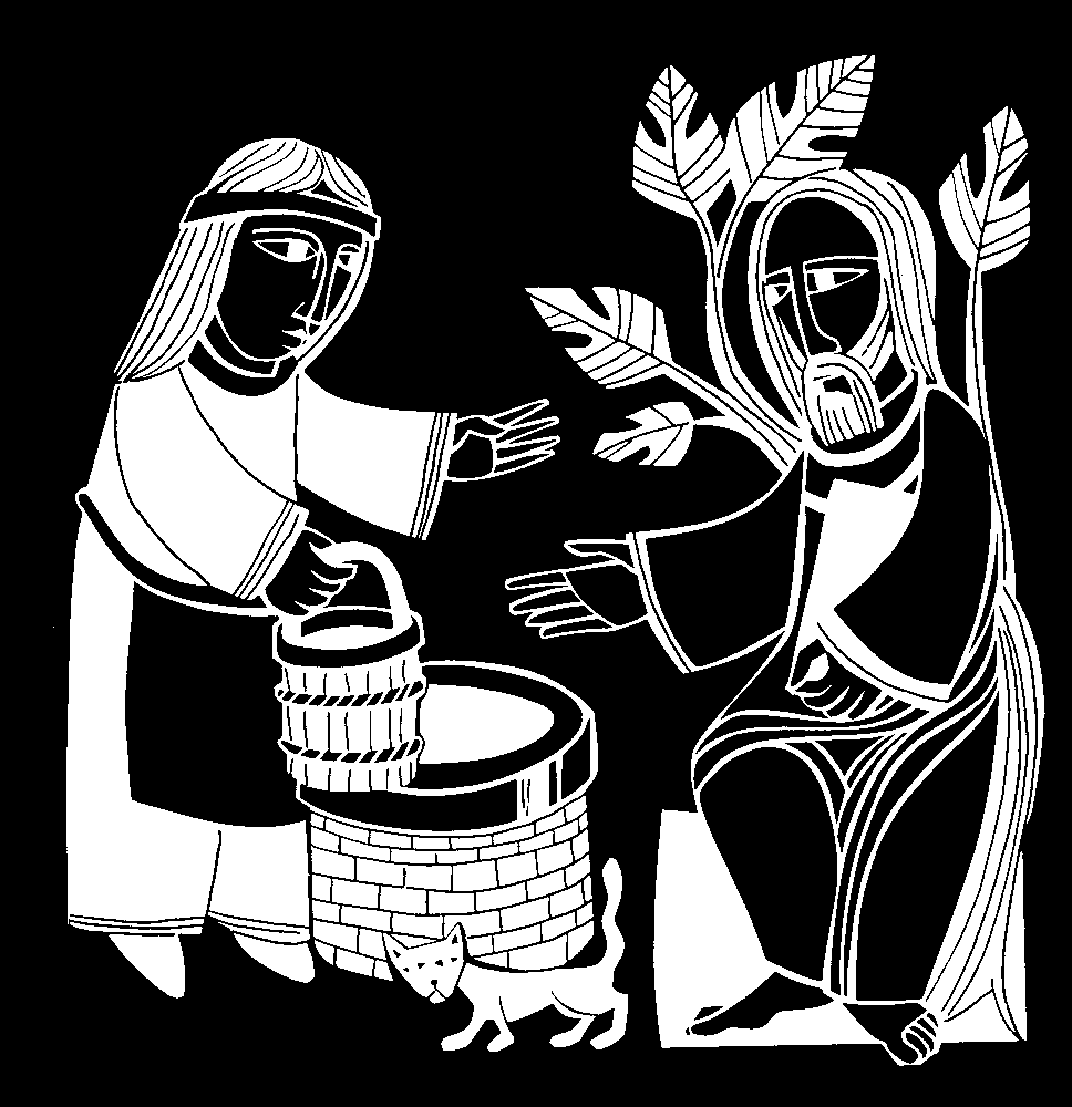 Week before the third Sunday of Lent: John 4: 5-42 New Revised Standard Version Context: This is a story about a man meeting a woman at a well a classic biblical drama.