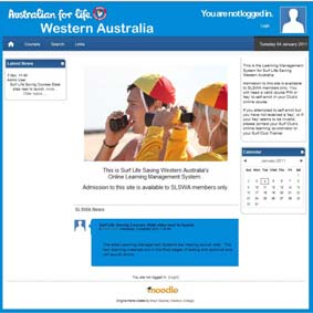 Creating Your Account To start creating your new Online Learning account, go to www.slscourses.com.au, select the Western Australia courses portal.