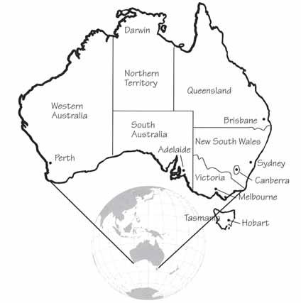 Seasons Australia is in the Southern Hemisphere so its seasons are the reverse of those in the Northern Hemisphere. Summer is from December to February, and autumn is from March to May.