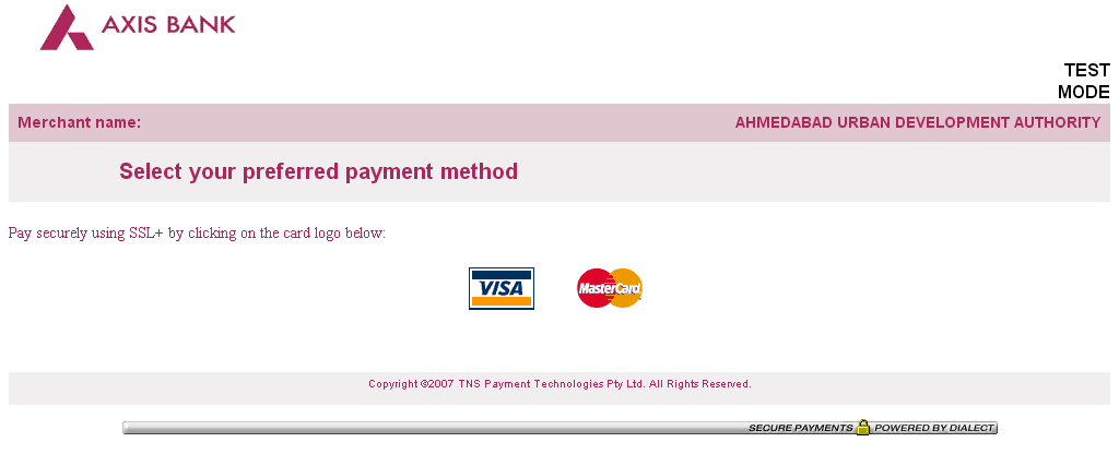 15) Once the payment method is selected, the user will need to enter the