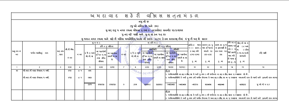 Below is the sample F-Form that will be received by