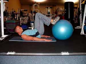 push-up position Medicine ball or cable lateral chopping on stability ball Reverse back/hip extensions on stability ball Breakdancers These core-strengthening exercises are a great addition to your