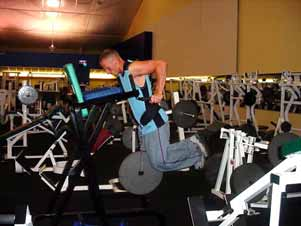 You could also have a spotter place a dumbbell between your calves or ankles to add weight.