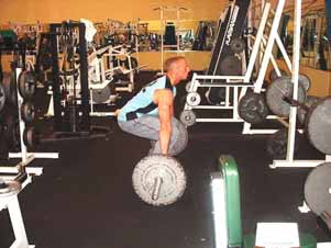 5. Barbell clean & push press In any clean & presses, you essentially move a weight from the floor all the way to a position above your head.