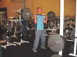 Due to the ability to move relatively substantial weight in this lift and the most distance moved of any weight training exercise, this exercise tops the list in terms of quantity of work performed,