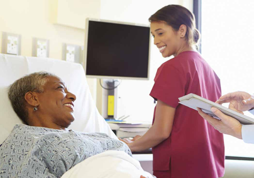 5 Hospital Care Hospital Care In this chapter, we report on Common Quality Agenda indicators related to patient satisfaction, the time people spend in the emergency department, wait times for some