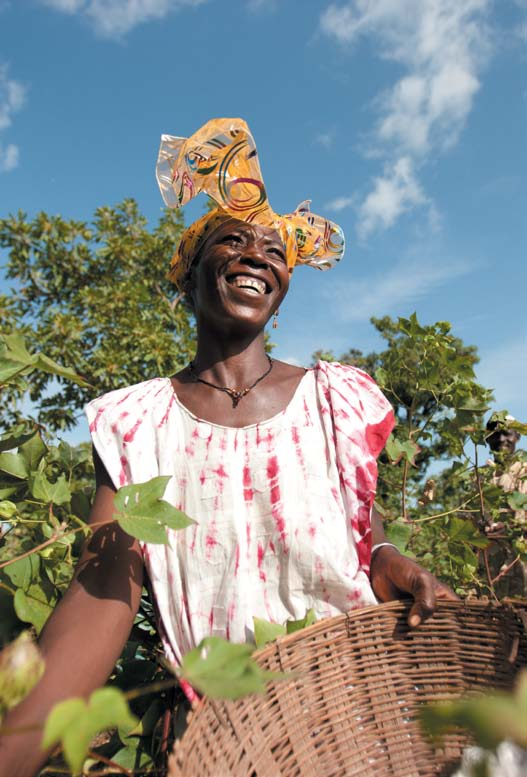 Five years of Fairtrade Cotton Our vision is of a world in which justice and sustainable development are at the heart of trade structures and practices. What is Fairtrade?