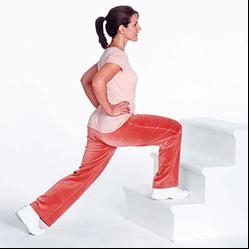 Level: Intermediate Complete 30 lunges 15 lunges on the left leg and 15 on your