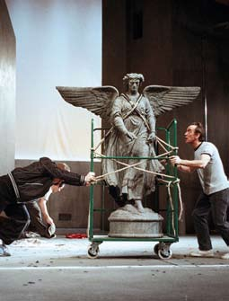Interviews Actor Adrian Schiller interviewed by staff director, Jamie Harper. The Hour could be described as a fairly formally radical play.