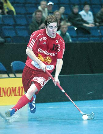 GAME FOR SKILLED PLAYERS Like other team games, Floorball requires the use of various skills and abilities.