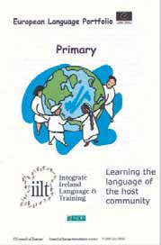 Section 4 Resources for pupils The European Language Portfolio from first to sixth class This version of the European Language Portfolio (ELP) was designed by Integrate Ireland Language and Training