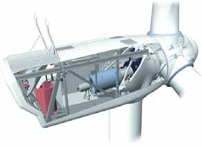 3 The use of jack-up vessels in offshore wind operations and maintenance The O&M phase of an offshore windfarm will invariably require some use of jack-up vessels to replace main components located