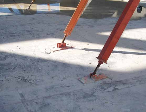 Floor Plate Bracket Tang Bolt * NOTE: When an extension is used, the