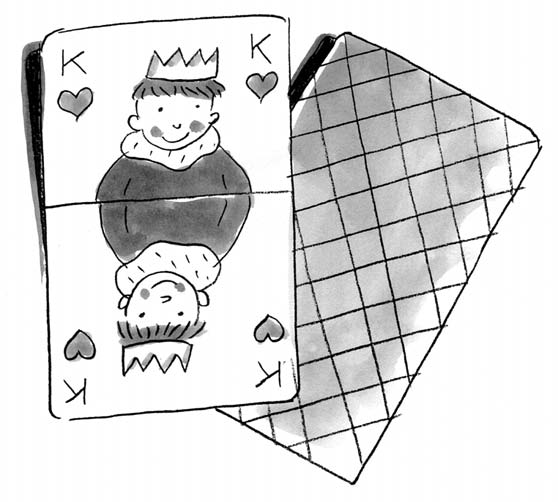 14 Red and Black Props: A deck of cards for each group How to Play: This competitive game fires up ambitions; the children discover new strengths and release some energy.