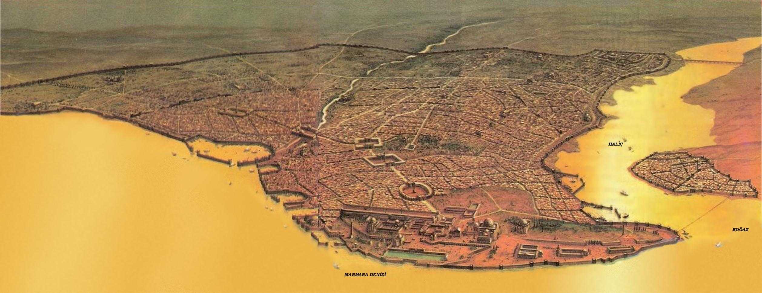 Constantine I Constantinople in